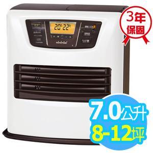 ◤日本製◢TOYOTOMI 【7公升】煤油電暖爐_8-12坪適用 (LC-L36C-TW)-白色