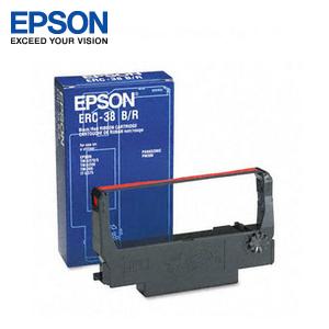 EPSON 收銀機色帶 ERC-38B/R(黑+紅)