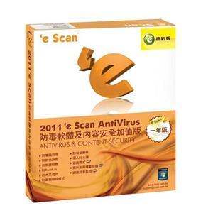 eScan 2011防毒軟體及內容安全加值版(一年/續約版)