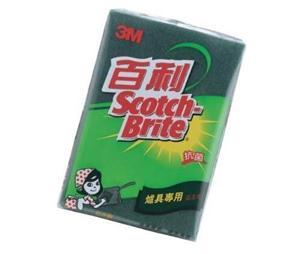 3M 百利抗菌升級爐具專用菜瓜布(5片X20包)