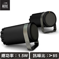ALTEC BXR1220 2.0聲道電腦喇叭 (USB供電/3.5mm傳輸)
