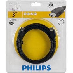 PHILIPS 飛利浦 SWV2433W/10 HDMI線 3M 黑