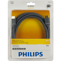 PHILIPS 飛利浦 SWV4433S/10 HDMI線 3M 黑