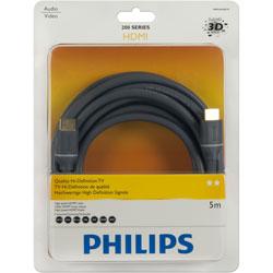 PHILIPS 飛利浦 SWV4434S/10 HDMI 線 5M 黑