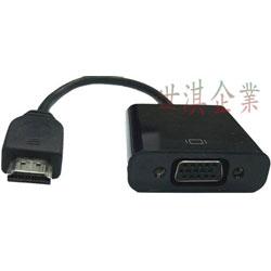 HDMI 轉 VGA 影像轉換線