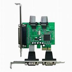 伽利略 PCI-E RS232(Serial) 2 Port + Parallel 1 Port 擴充卡