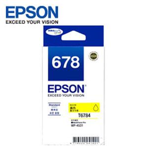EPSON 原廠黃色墨水匣 T678450 (適用WP-4531,WP-4091)
