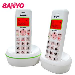 三洋 來電顯示雙手機數位無線電話 DCT-9962(綠)