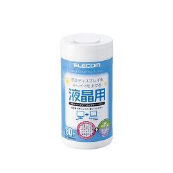 ELECOM 民台 WC-DP80N3 無酒精液晶螢幕專用擦拭巾III 80P