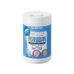 ELECOM 民台 WC~DP110LN3 無酒精擦拭巾III 110P