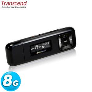 【網購獨享優惠】Transcend 創見 MP330 MP3 隨身聽 8GB 黑