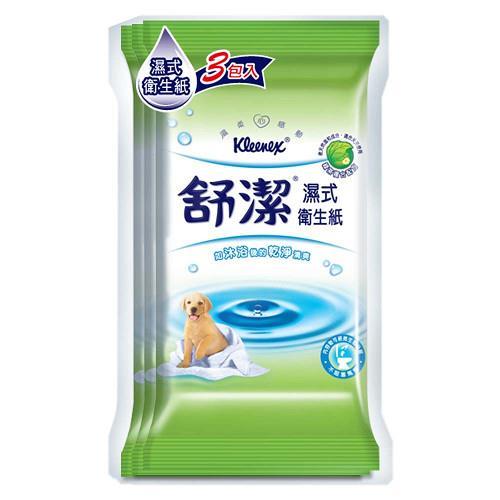 【量販組】 舒潔濕式衛生紙 (10抽x54包)