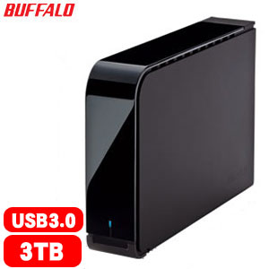 BUFFALO 巴比祿 3.5吋 3TB 72R外接硬碟 HD-LXU3【7200高轉速】