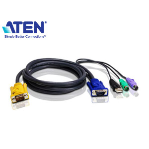 ATEN宏正 2L-5303UP 切換器連接線 (PS2+USB)
