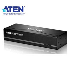 ATEN宏正 VS1208T VGA延長器 (8埠/300公尺/Cat 5e/1920x1200)