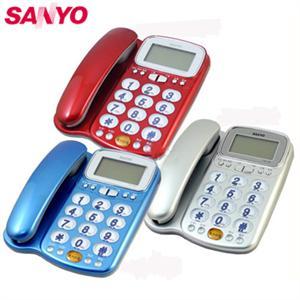 【SANYO三洋】來電顯示助聽功能有線電話(TEL-986)
