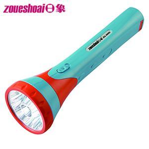 ★台灣製★【日象】10+1Lamp充電式LED手電筒(ZOL-6900D)