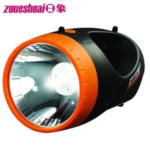 ★立燈+探照兩用★【日象】充電式2合1 LED炬亮探照燈(ZOL-9000D)