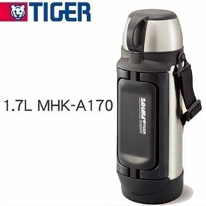 ★大容量款★TIGER虎牌【1.7L】不鏽鋼保溫保冷瓶(MHK-A170)