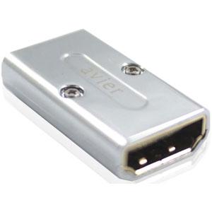 【avier】 HDMI 轉 HDMI A-A 延長轉接頭 (銀) 1CO-HDATO-A0002D-1