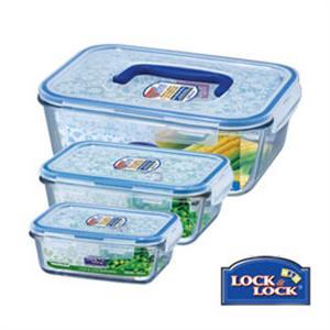 樂扣樂扣 GLASS大廚料理烤箱微波3件組(LLG421 LLG431 LLG461)