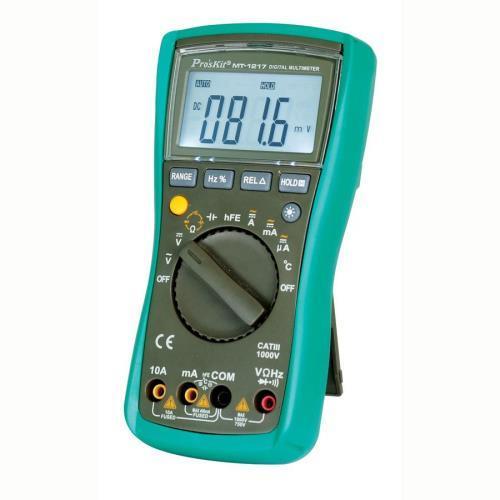 Pro'sKit寶工 MT-1217  3���3/4自動量程數位電錶