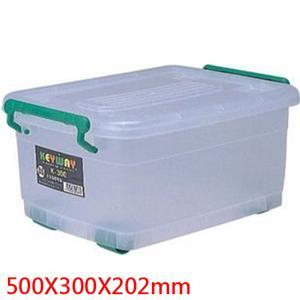 聯府滑輪整理箱 K300 (附輪)【3入】