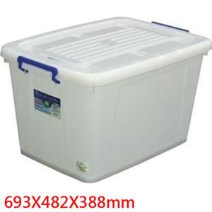 聯府 多用途整理箱 K801 (附輪)【2入】