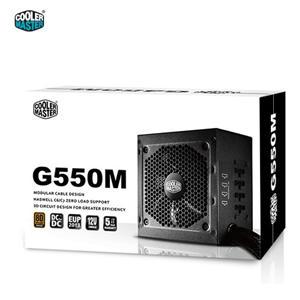 Cooler Master 訊凱 G550M 80PLUS 銅牌模組化電源供應器