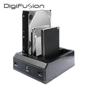 伽利略 USB3.0 3插槽 雙SATA硬碟座 RHU07