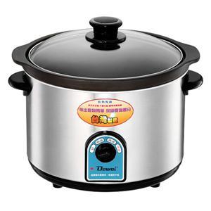 ★台灣製、1鍋2用★多偉【4.7L】不鏽鋼耐熱陶瓷燉鍋(DT-602)