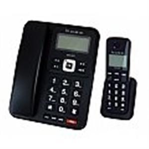 BASS倍適 2.4G數位無線子母電話/黑、白兩色可選