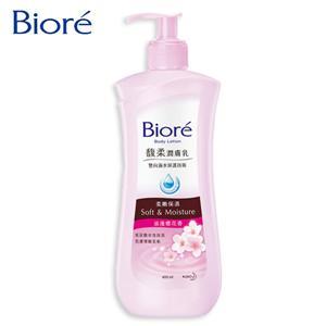 【Biore】馥柔潤膚乳 柔嫩保濕 浪漫櫻花香400ml*2瓶