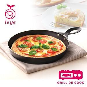 ★日本製★《逸品軒》AUX Leye 石窯風不沾披薩烤盤 LS1502