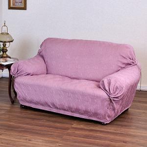 【Ballon】翠娜紫彈性沙發便利套/1+2+3人座