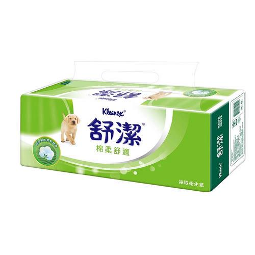 【量販組】舒潔棉柔舒適抽取衛生紙110抽(12包x6串) / 箱