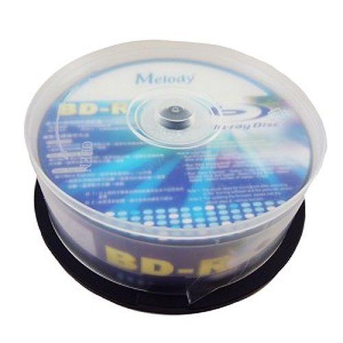 Melody 6X 藍光燒錄片 25GB 25入布丁桶裝