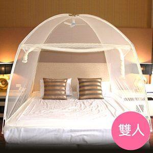 【威克爾】三門蒙古包式蚊帳-雙人