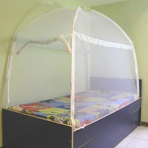 【威克爾】三門蒙古包式蚊帳 (3.5*6.2)_單人床專用
