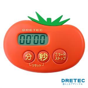 【日本DRETEC】水果計時器-番茄