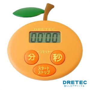 【日本DRETEC】水果計時器-橘子