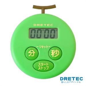 【日本DRETEC】水果計時器-哈密瓜綠