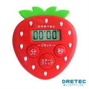 【日本DRETEC】水果計時器-草莓