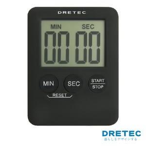 【日本DRETEC】Pocket 口袋型迷你計時器-黑色
