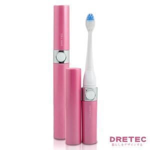 【日本DRETEC】Dr.Snoic 音波電動牙刷-櫻花粉