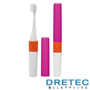 【日本DRETEC】Sonic Bar音波電動牙刷(平行刷頭 )-音波粉