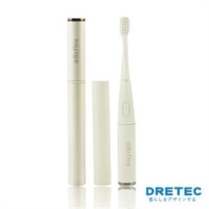 【日本DRETEC】Refleu 音波式電動牙刷-白色