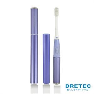 【日本DRETEC】Refleu 音波式電動牙刷-紫色