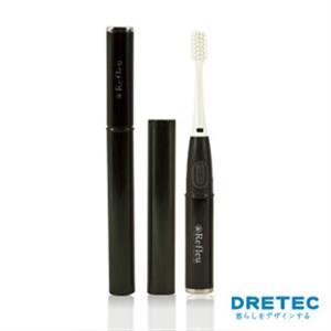 【日本DRETEC】Refleu 音波式電動牙刷-黑色