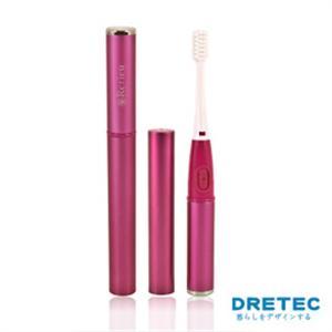 【日本DRETEC】Refleu 音波式電動牙刷-粉色